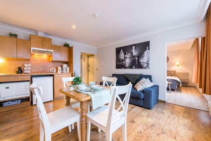 Large holiday flat in the historical center