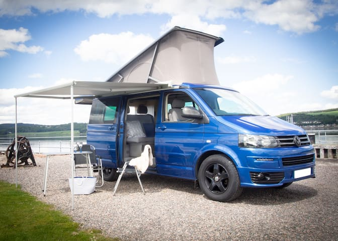 JJ Blue Scottish Campervan - Highlands and NC500