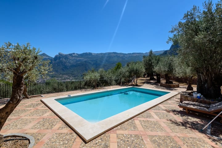 Stunning Soller Mountain House with Private Pool