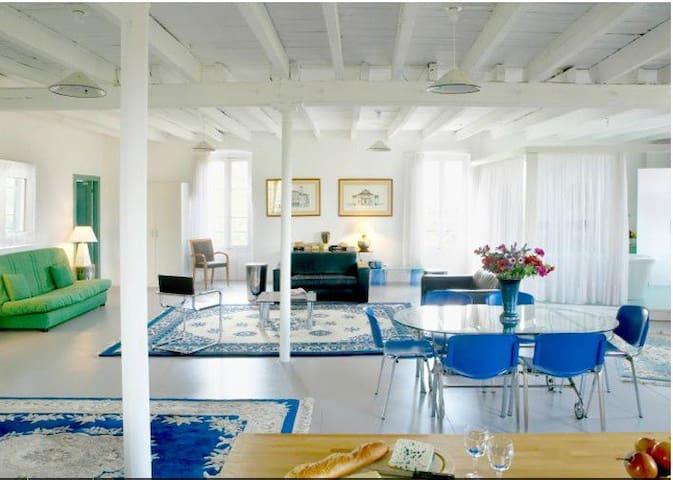 Le Loft Bleu de La Gaudane - Cordes-sur-Ciel - Appartement