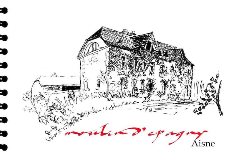 MOULIN D'EPAGNY :  NATURE ET RETOUR AUX SOURCES