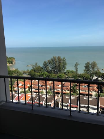 Cozy apartment with seaview in Batu Ferringhi - Tanjung Bungah - Apartament
