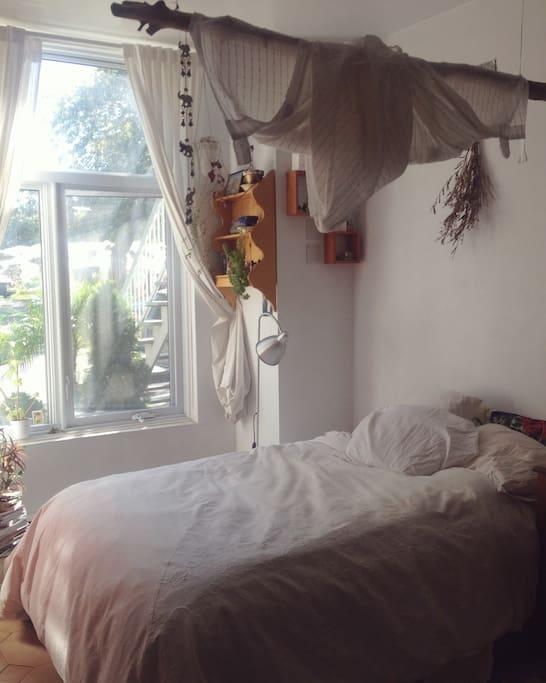 More recent room set-up