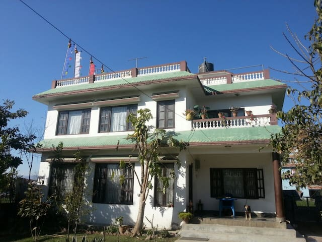 Affordable / cozy Nepalese homestay - Lubhu - Casa