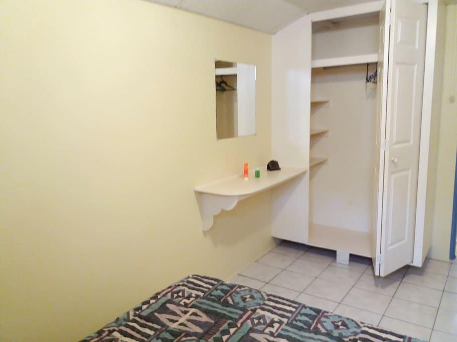 Bedroom #1 Wardrobe Space