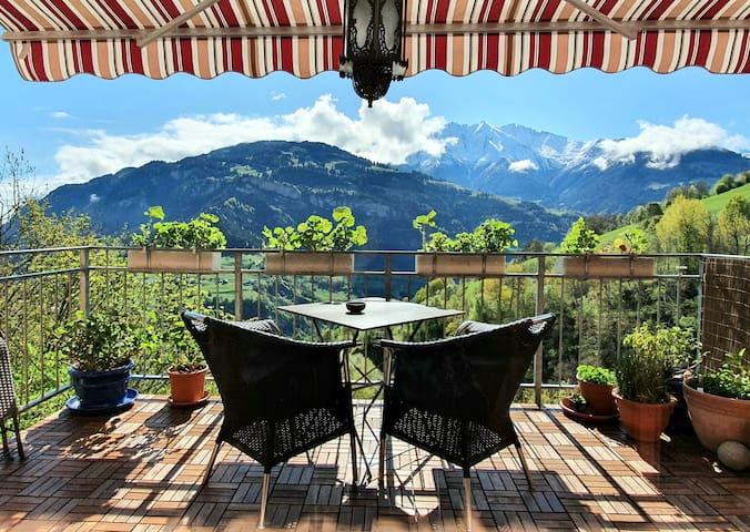 Amazing Mountain View 3 Zimmer Wohnung