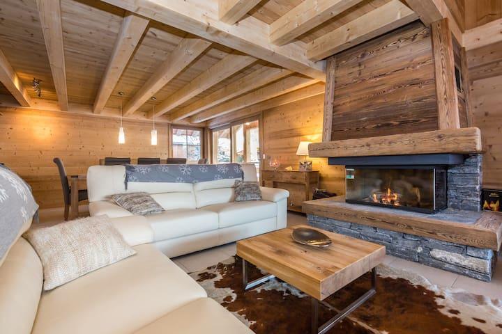 Luxury Chalet Mont-Blanc Valley - Saint-Gervais-les-Bains - Almhütte