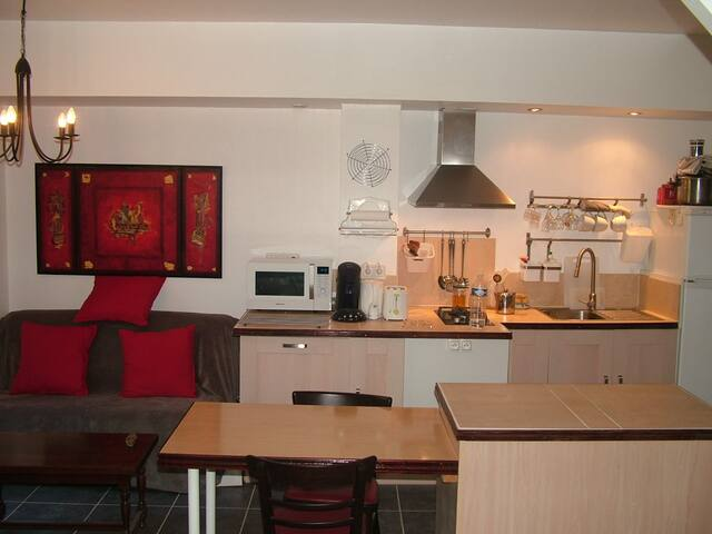 joli studio meublé tout confort - Sérignan