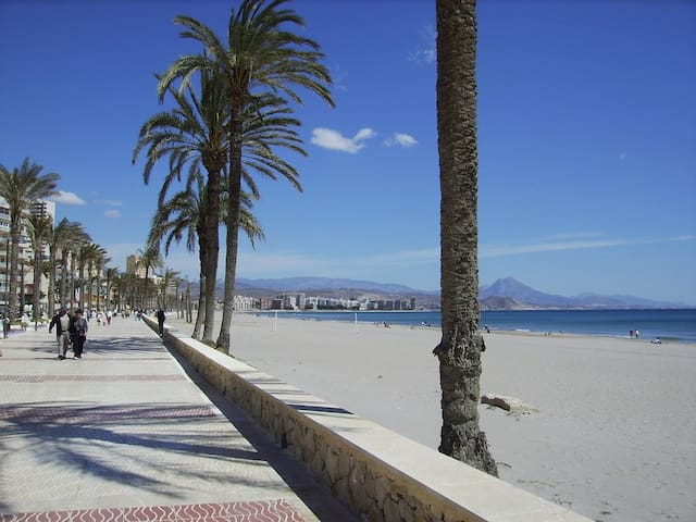 Cosy apartment, relaxing and beach in Alicante - El Campello - Lägenhet