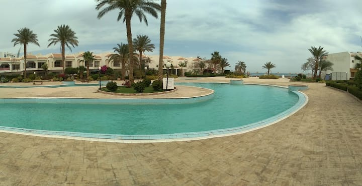 Nice 3bd villa sea view at Hurghada, Mamsha HRV102