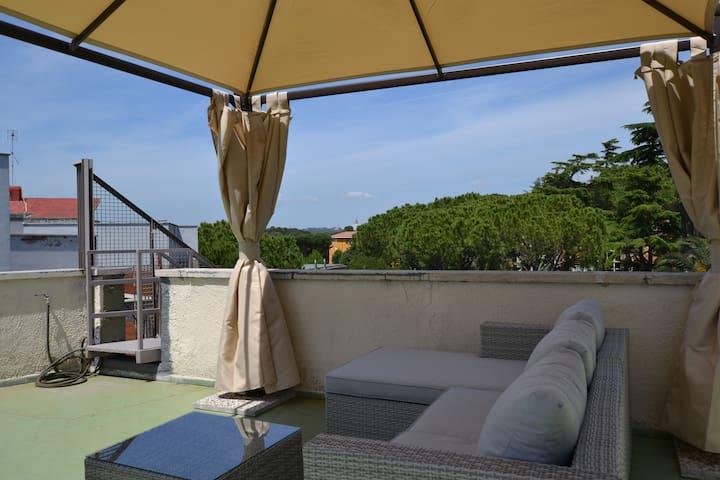 Romantic attic over Rome - Rom - Loft