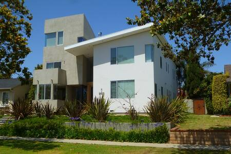 beautiful modern house in mar vista los angeles