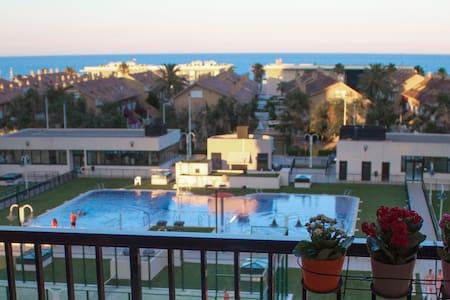 Apartamento con vistas al mar - Альборайи