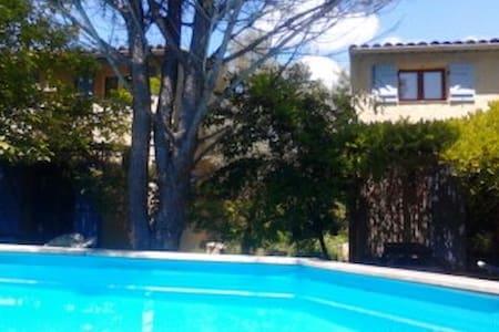 les mimosas / les lavandes - Correns - Casa