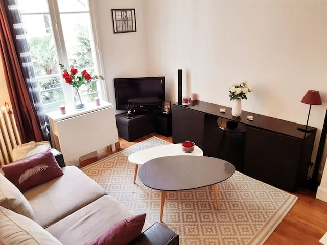 Cosy Flat for 2pers. near to Paris