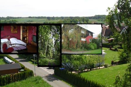 Ferienwohnung - ruhige Ortsrandlage - Burgwald