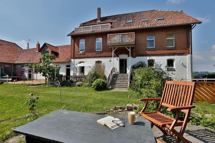 Schöne Wohlfühl-Wohnung im ehemaligen Bauernhaus - Barsinghausen - Apartamento