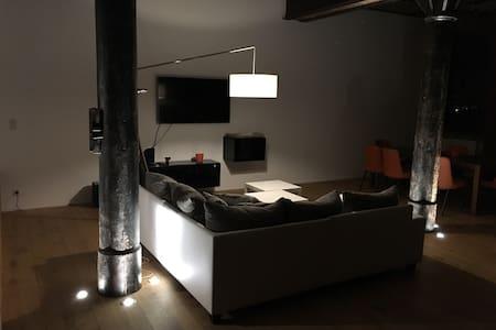 Beau et spacieux loft rénové, 130m2 - Uckange - Daire