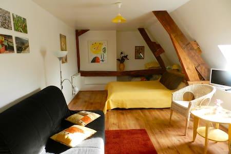 """La chambre """"Soleil"""" à Henrichemont - Bed & Breakfast"""