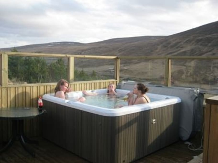 The hot-tub