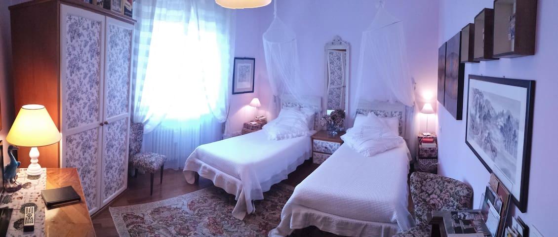 TeapotHouseB&B/camera doppia+bagno pvt/EnglishRose - Perugia - Bed & Breakfast