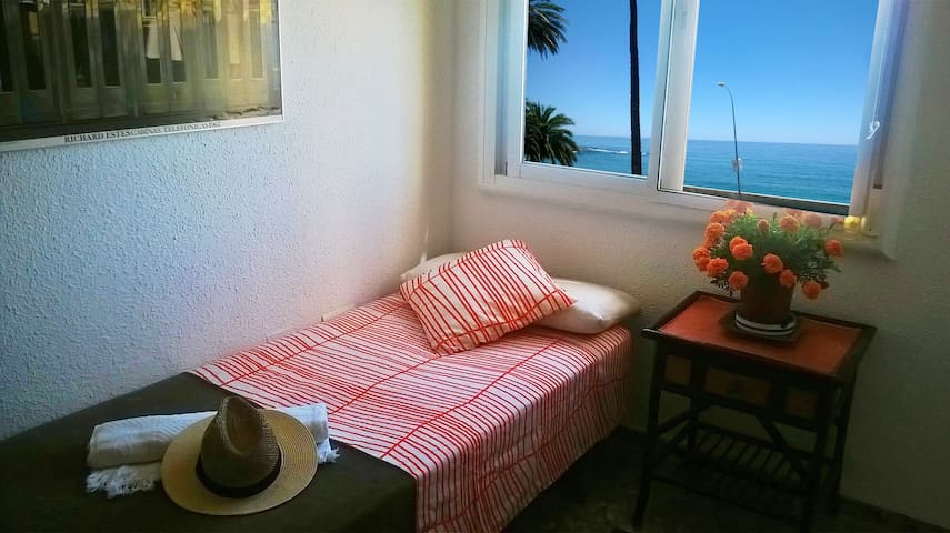 Single bedroom by the sea! - Málaga - Huoneisto