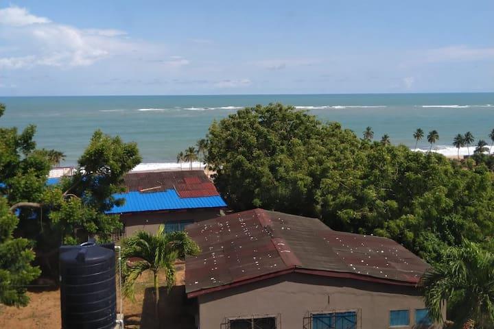 Beautiful coastal scenery