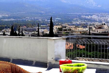 Cosy central top floor studio - Atina - Daire