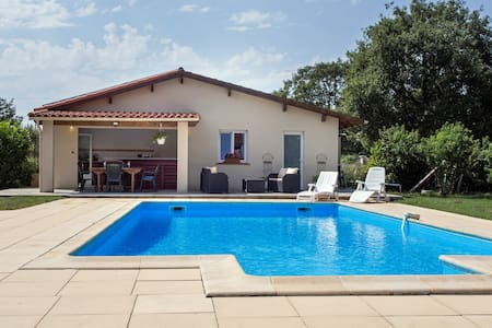 Jolie maisonnette 50m2 avec piscine - Saint-Paul-sur-Save - House