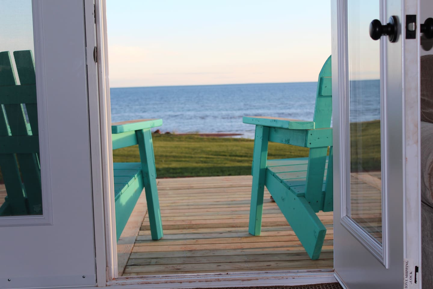 You are just steps away from the beautiful south shore of PEI.