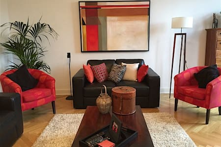 Large, sunny 2bedroom apartment - Kempen - 公寓