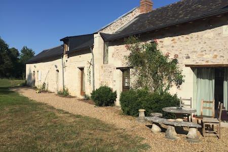 Proche Saumur logement indépendant charmant 4 pers
