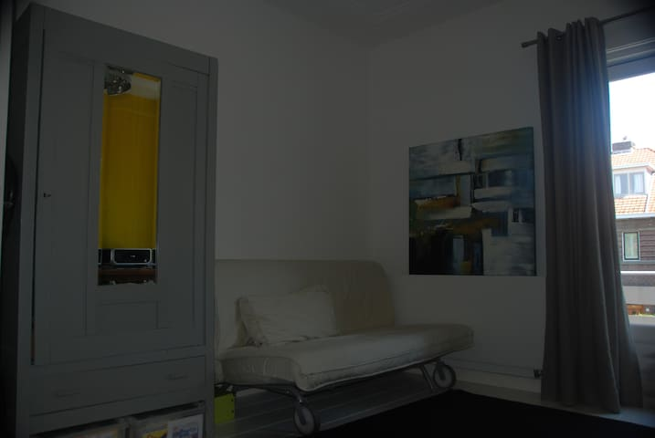 double bed room/ study room