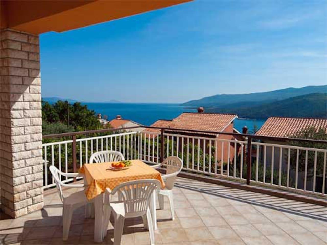 Terrace & Sea View