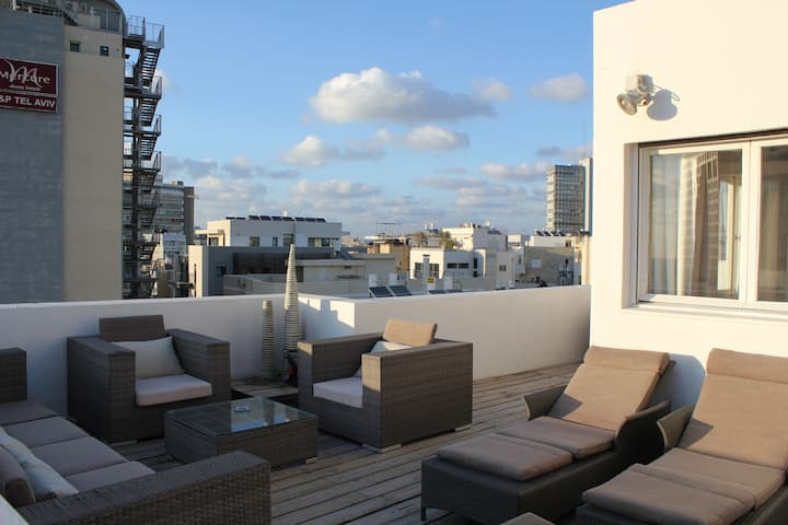 Cosy Duplex -  Amazing Terrace -2mn from the Beach