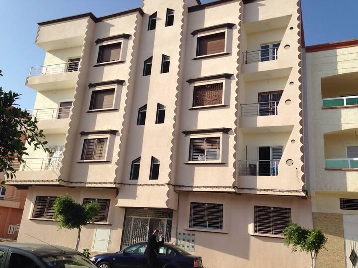Appartement 10mn de la plage Saida