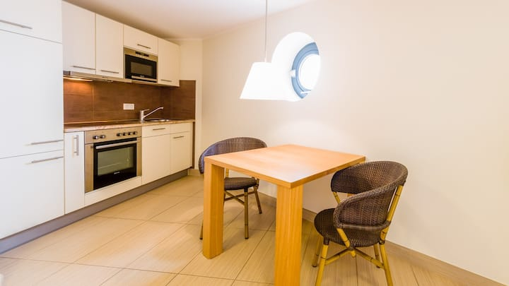 Villa Nordsee, (Norderney), Ferienwohnung Typ D, 42qm, 1 Schlafzimmer, max. 2 Personen