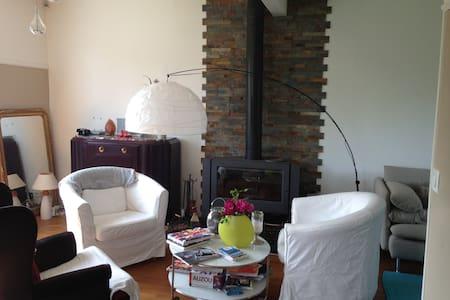 Maison de 90 m2 et jardin paysager - Montsoult