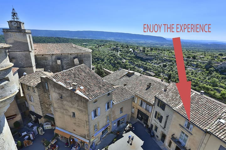 ENJOY THE EXPERIENCE OF PROVENCE - Gordes - Apartment