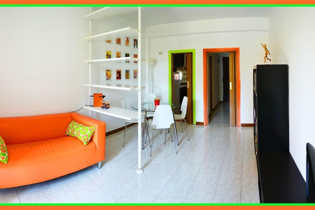 Il Pop Soggiorno  The Pop Living Room