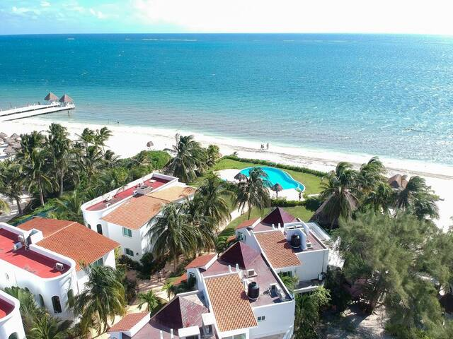 Puerto Morelos Villa2 Deluxe Beachfront with Pool