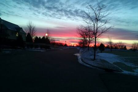 Beautiful skies and fresh air - Maison
