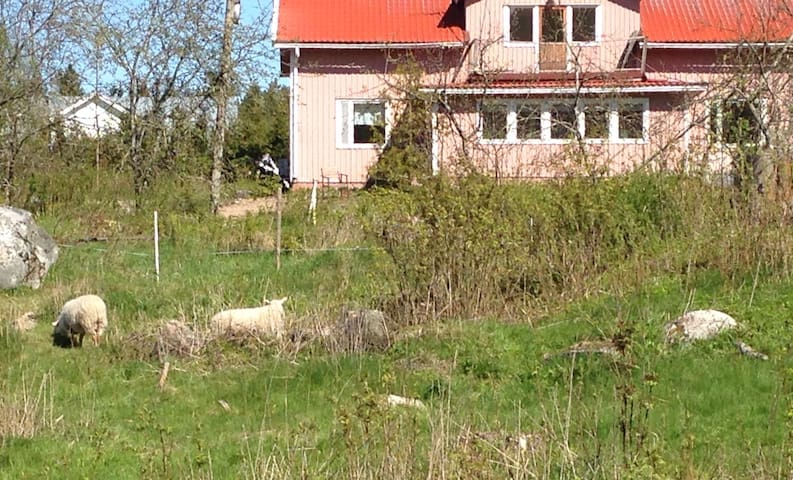 Farmhouse:two bedrooms, livingroom, veranda, sauna