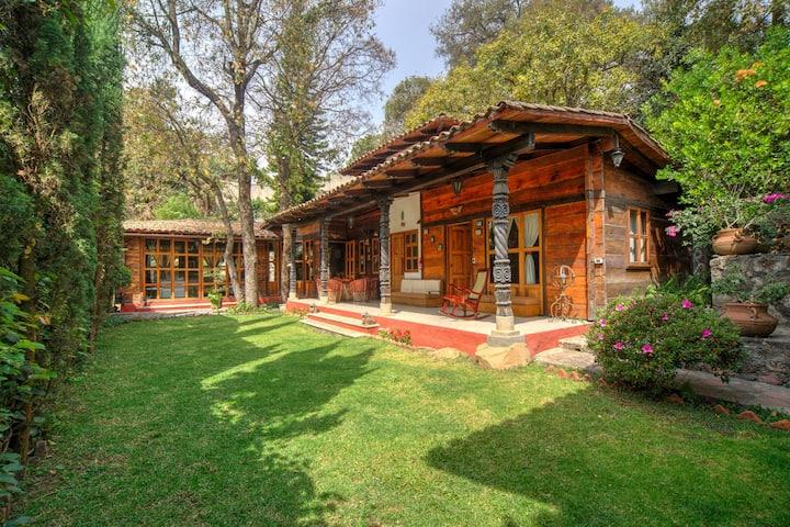 Hermosa cabaña de lujo en Cuernavaca