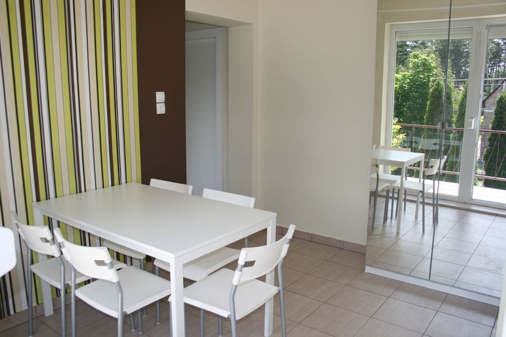 DeLux 5 Apartment for 4 Person with balkony