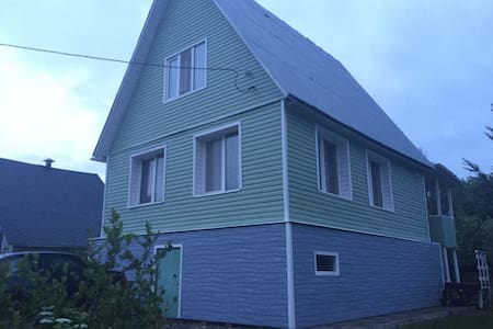 Летний дом (дача) с верандой - Вороново - Hus