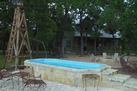 Creekside Guesthouse- Leakey, Texas - Ház