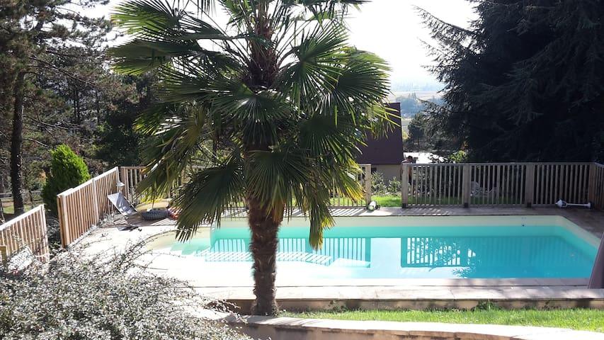 Villa détente route des grands vins - Givry - Casa