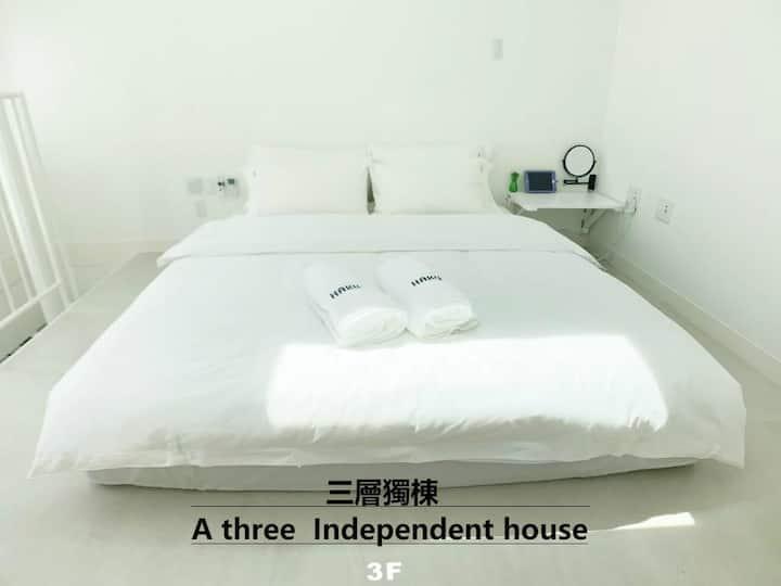 雷门浅草寺独栋三层北欧设计风格公寓酒店