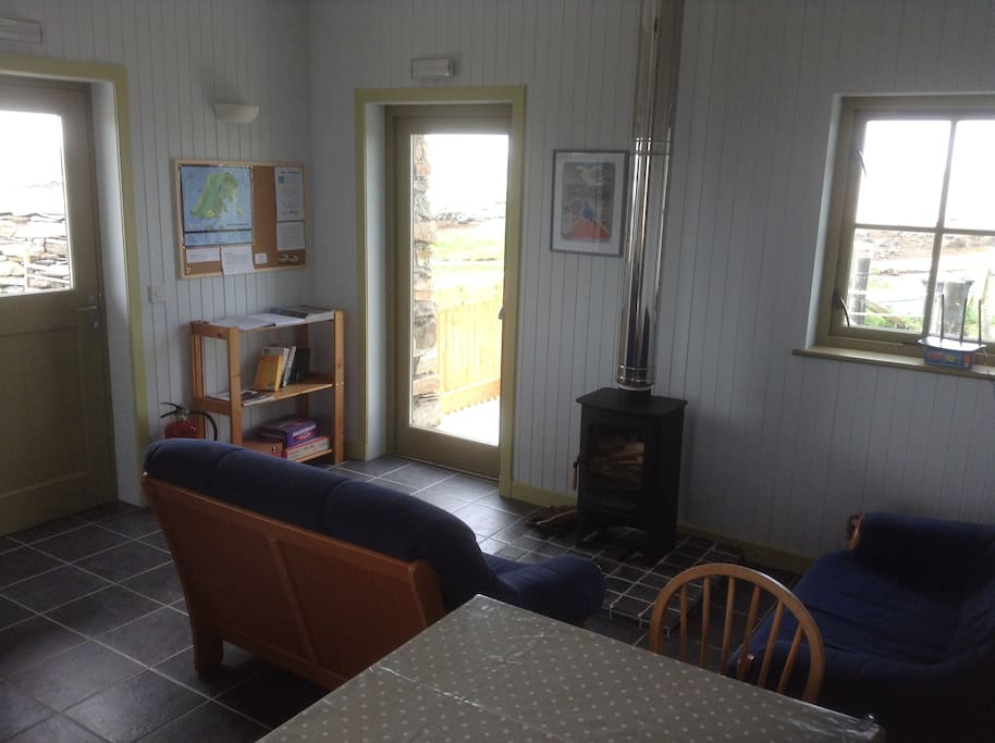 Sitting Area With Stove